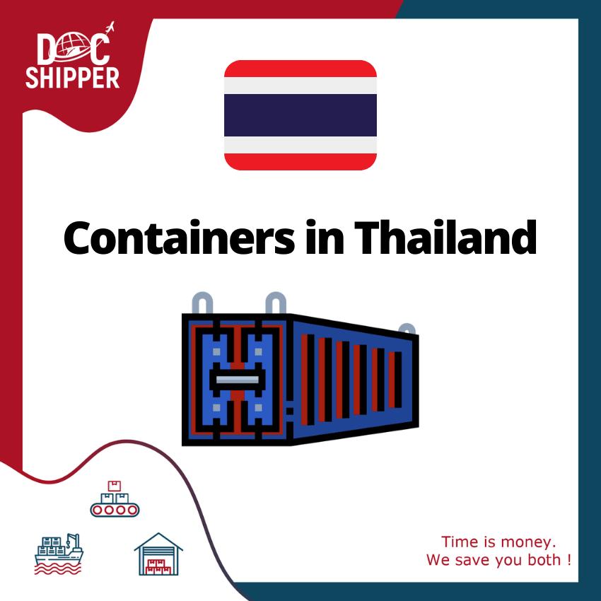 containers thailande
