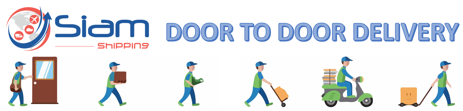 door to door services thailand