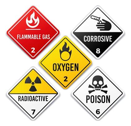 labels hazardous